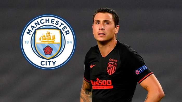 Jose Gimenez Manchester City composite