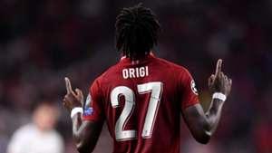 Divock Origi Liverpool 2019