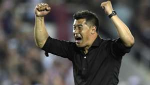 Jorge Almiron Lanus River copa Libertadores 31102017