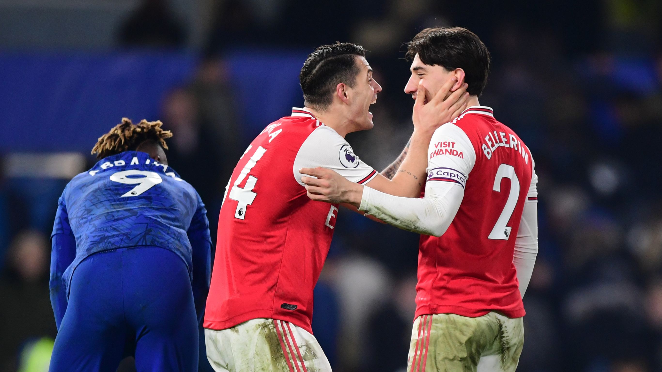 Arsenal showed we have character in Chelsea draw - Xhaka