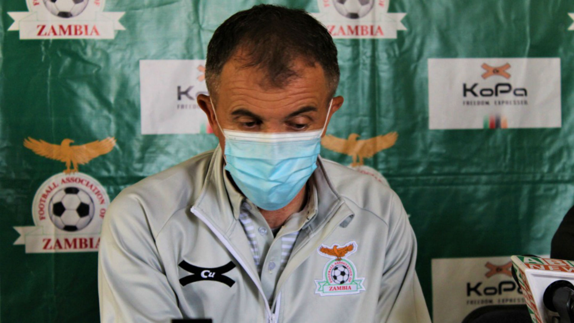 'We are determined to establish iron discipline' – Zambia's Sredojevic after Chongo release