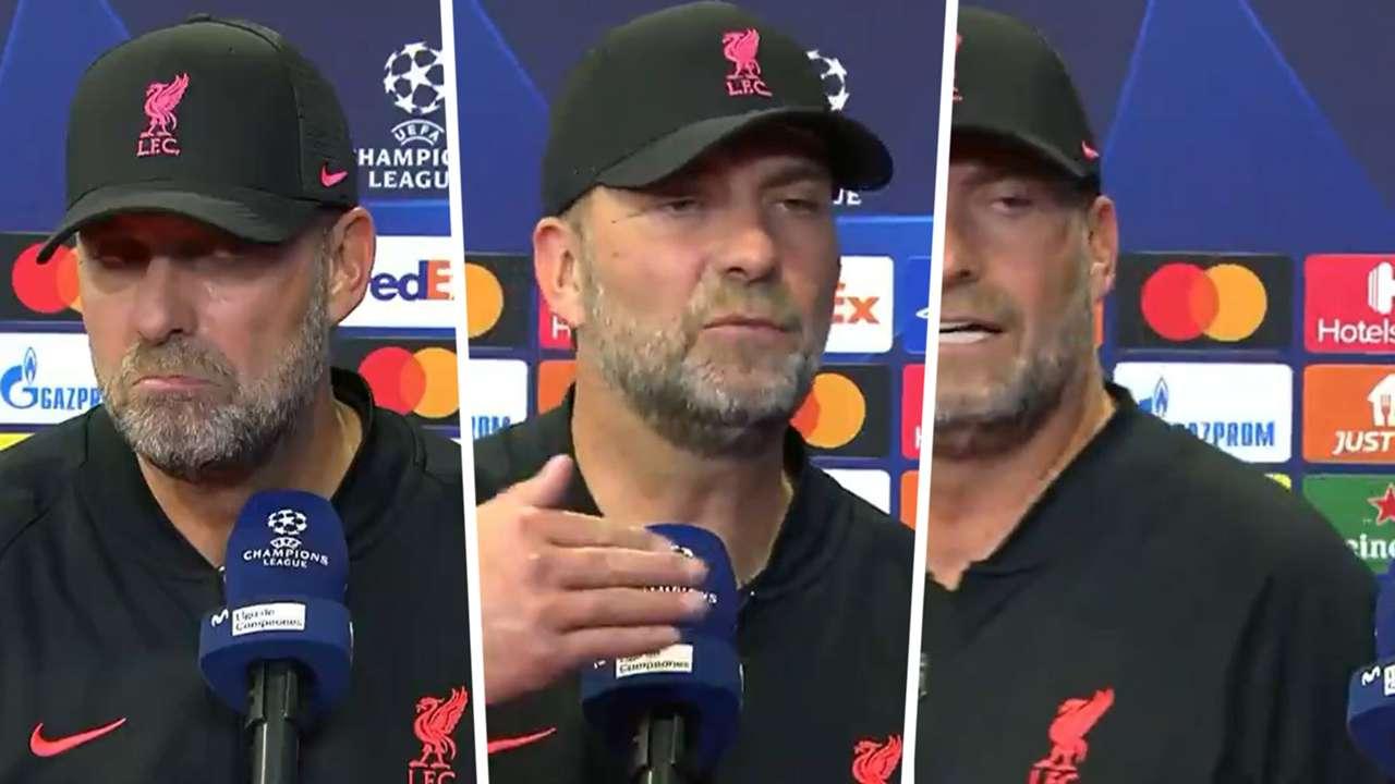 Jurgen Klopp interview Champions League