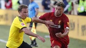 Oxlade-Chamberlain Dortmund Liverpool