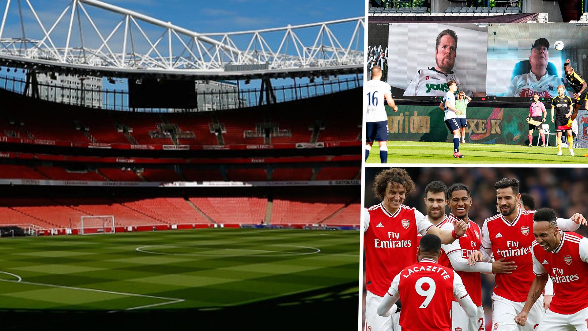 Arsenal Exploring Multiple Ways To Bring Virtual Fans Inside Emirates Stadium For Premier League Restart Goal Com