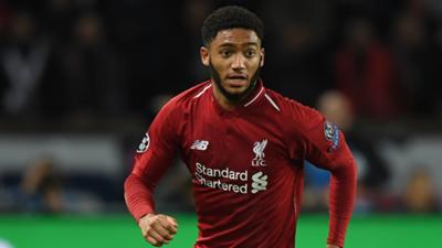 Joe Gomez Liverpool 2018-19