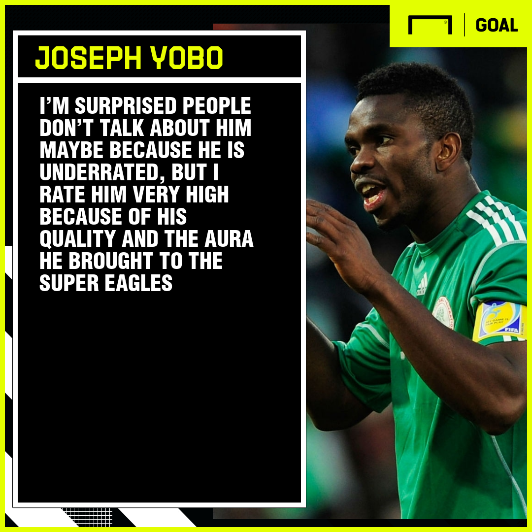 'Underrated' Taiwo brought aura to Super Eagles – Yobo