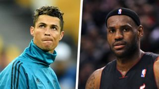 LeBron James Ronaldo Split