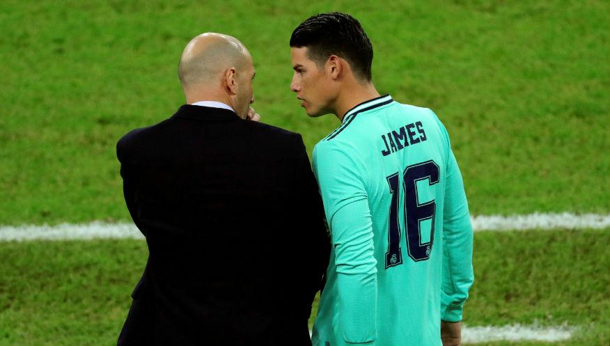 Mercato - Real : James suivi par Ancelotti et Everton