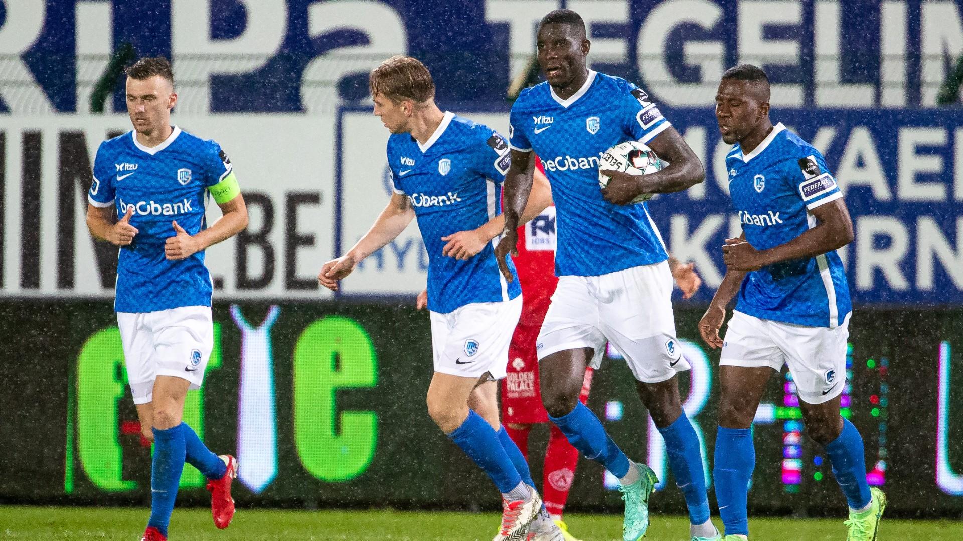 Onuachu leads Genk past Selemani's KV Kortrijk