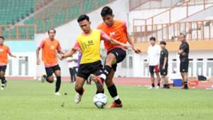 Foto Duel Game Internal Timnas U19, Sutan Zico