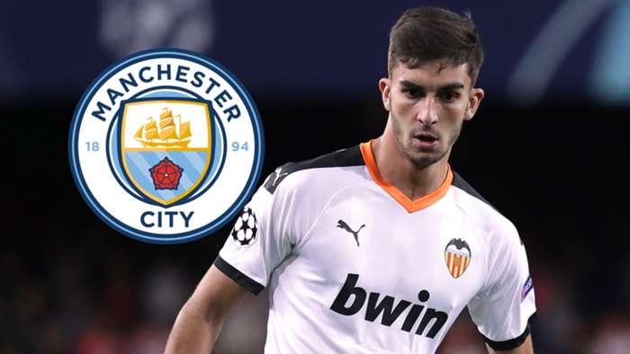 Ferran Torres Manchester City GFX