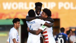 USA France U20 World Cup Celebration 06042019