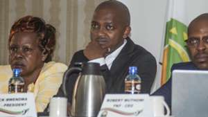Nick Mwendwa Dorris Petra and FKF.