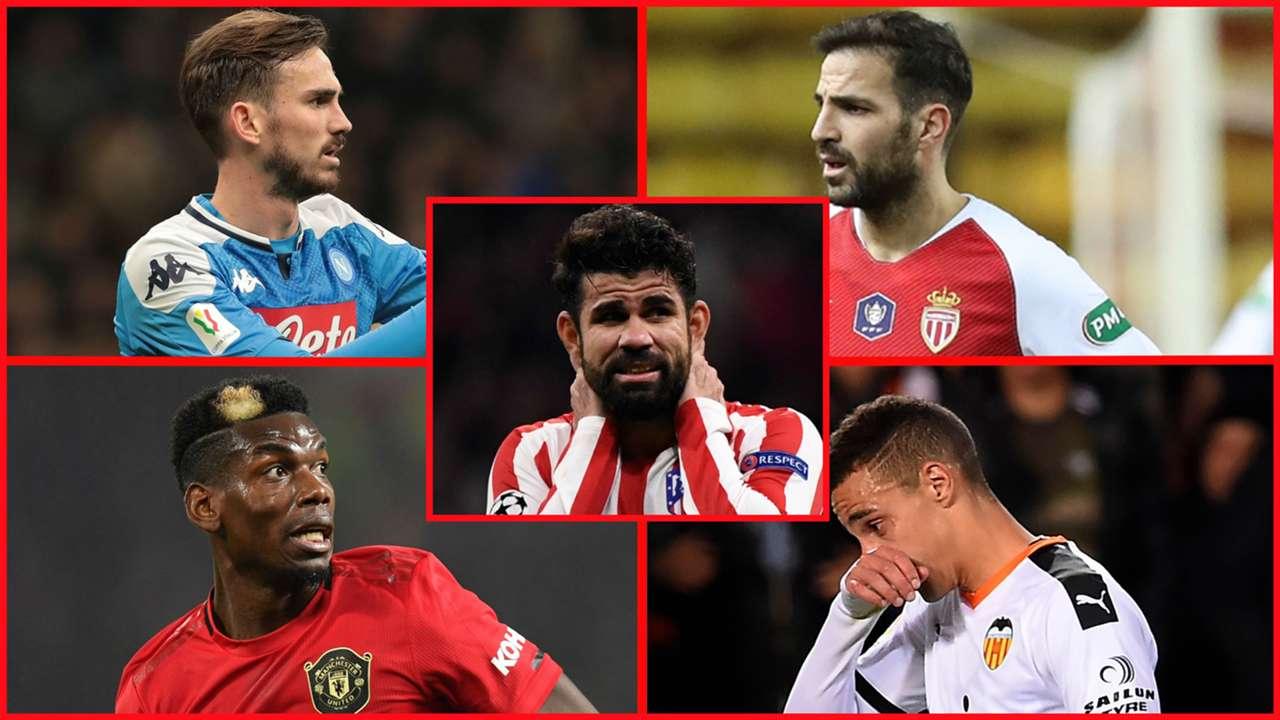 Fabián, Cesc, Diego Costa, Pogba y Rodrigo