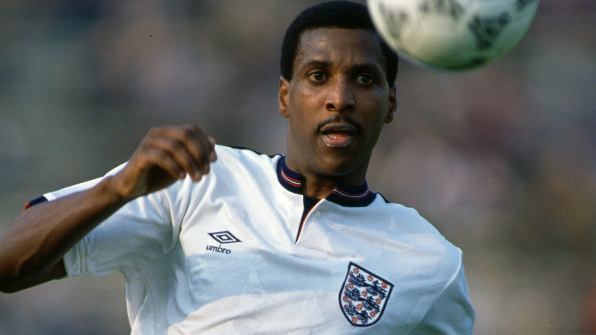 Who was the first black footballer to play for England?