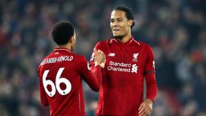 Alexander-Arnold Van Dijk Liverpool 2018-19