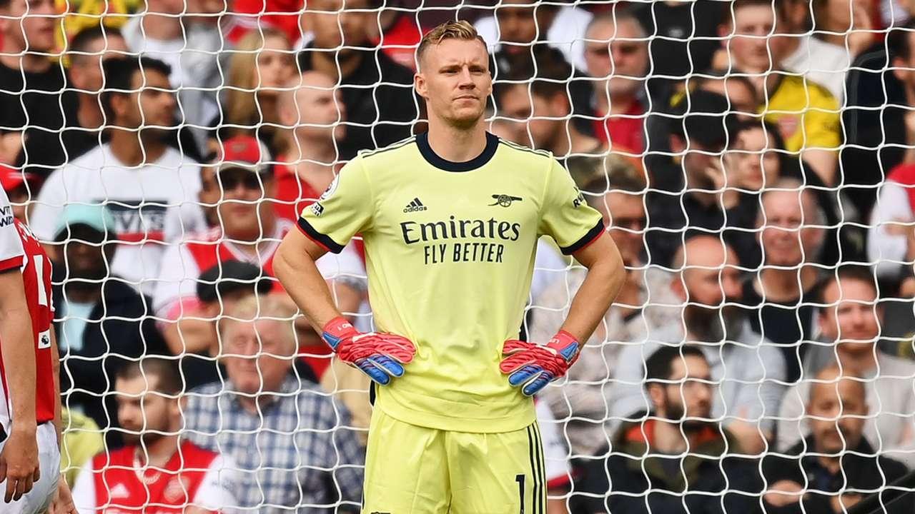 Bernd Leno Arsenal 2021-22