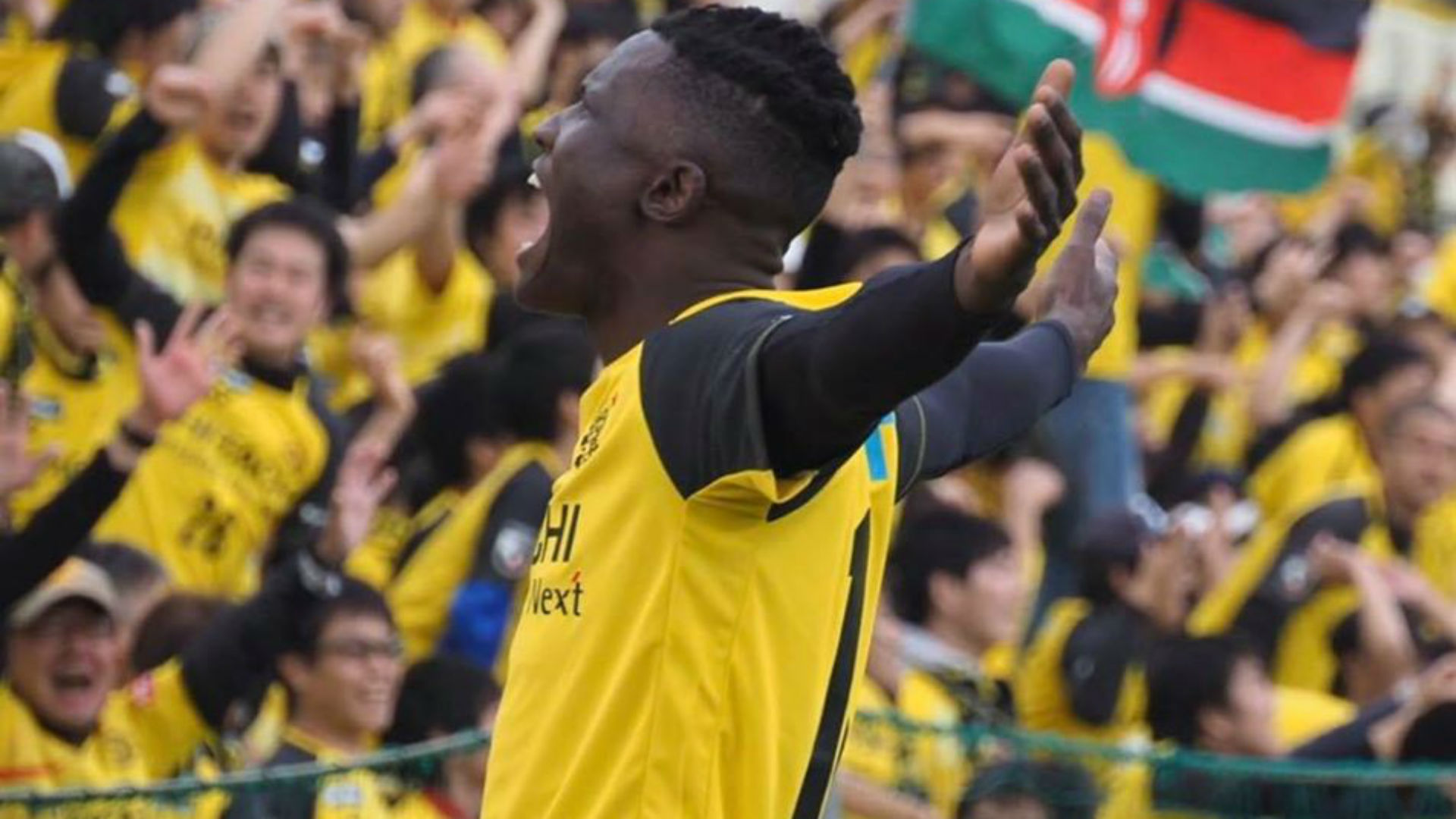 Olunga: Kashiwa Reysol's striker set to continue with J1 League from July
