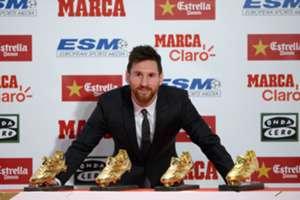 Lionel Messi - Golden Shoe 2017