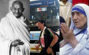 Gandhi Mexico Mother Teresa