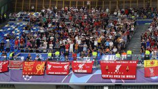 Liverpool supporters Napoli 2019-20