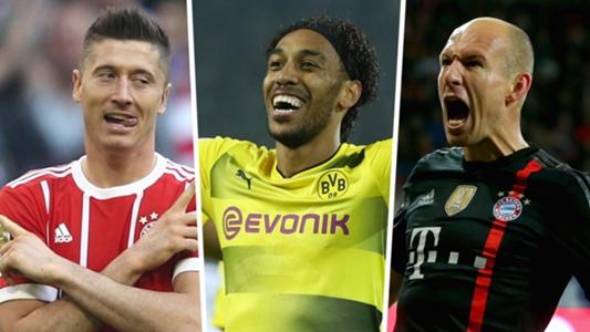 Bundesliga Team of the Decade: Robert Lewandowski and Pierre-Emerick Aubameyang Aubameyang lead awesome attack   Goal.com