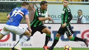 Defrel Sampdoria Sassuolo Serie A