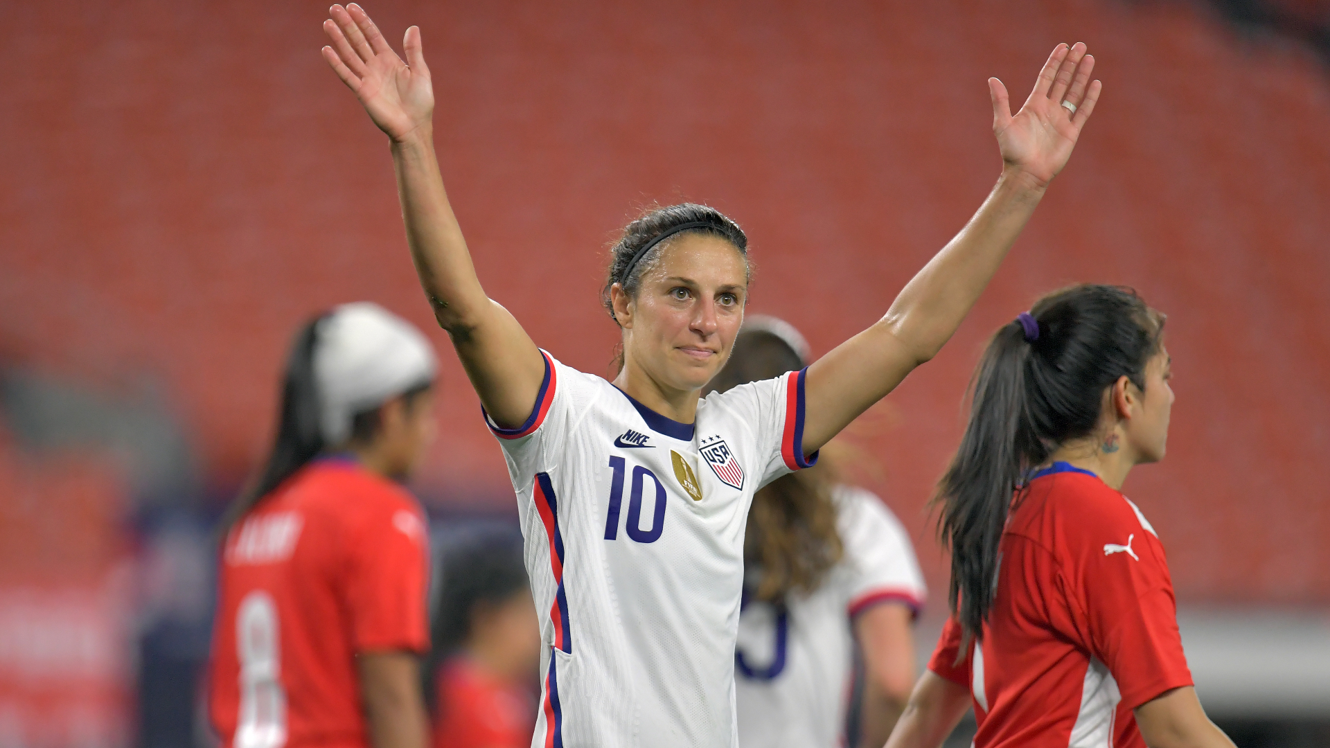 USWNT roster: Rapinoe returns ahead of Lloyd's farewell matches
