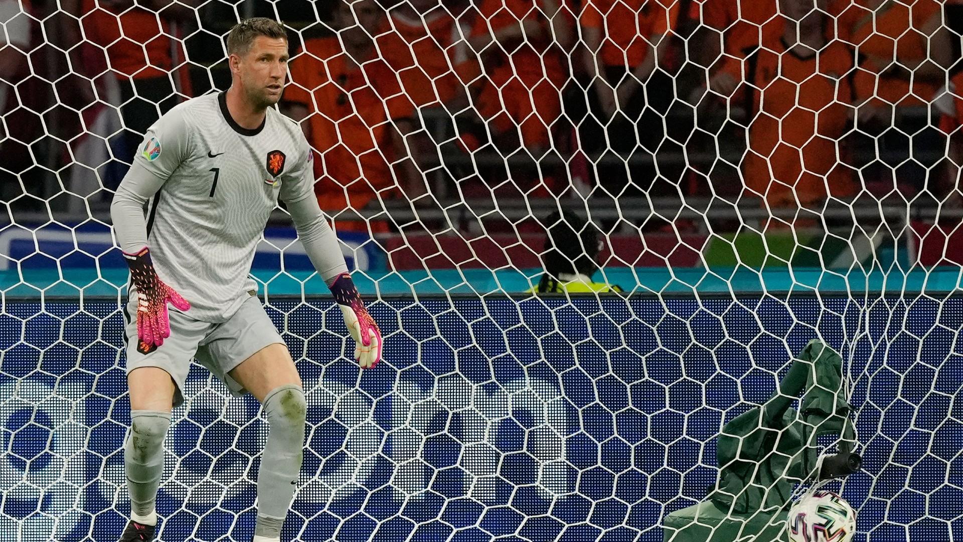 Stekelenburg da primato: il più anziano a giocare per l'Olanda un grande torneo | Goal.com