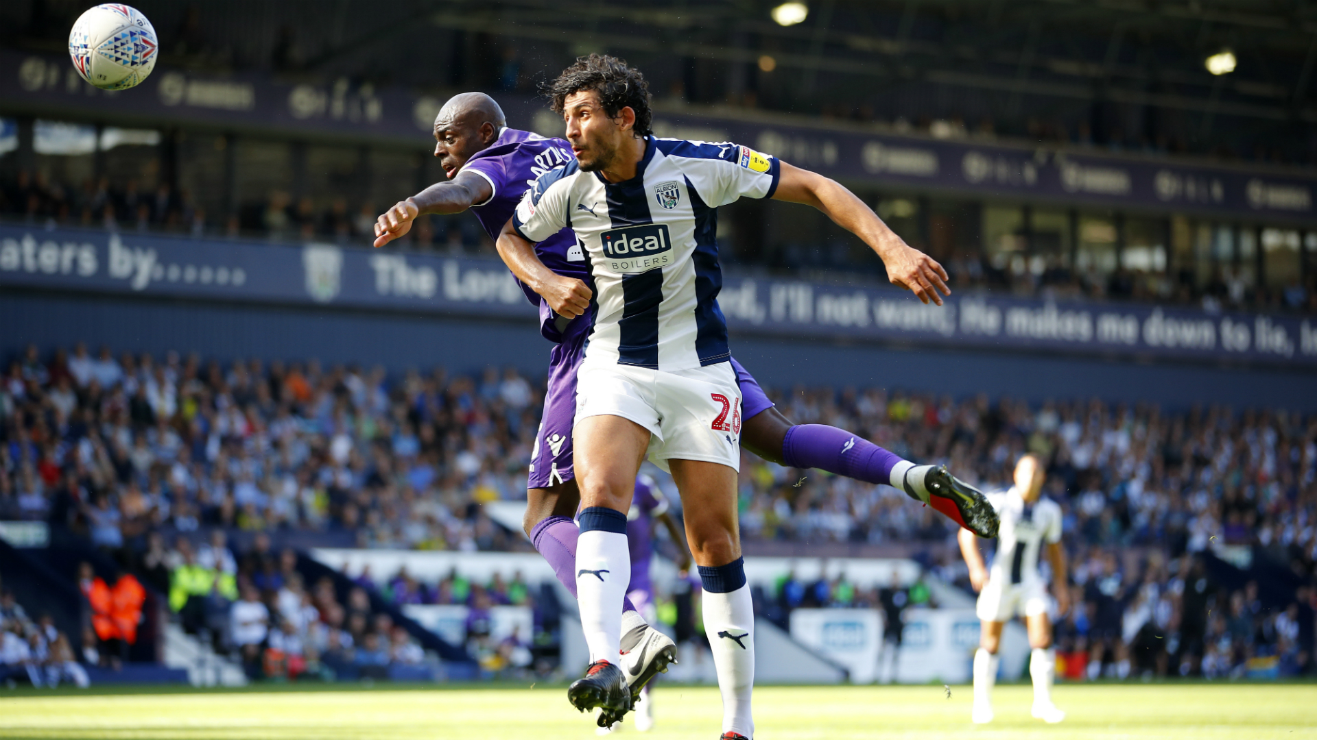 Hegazi scores and sees red in West Brom win over Hull City