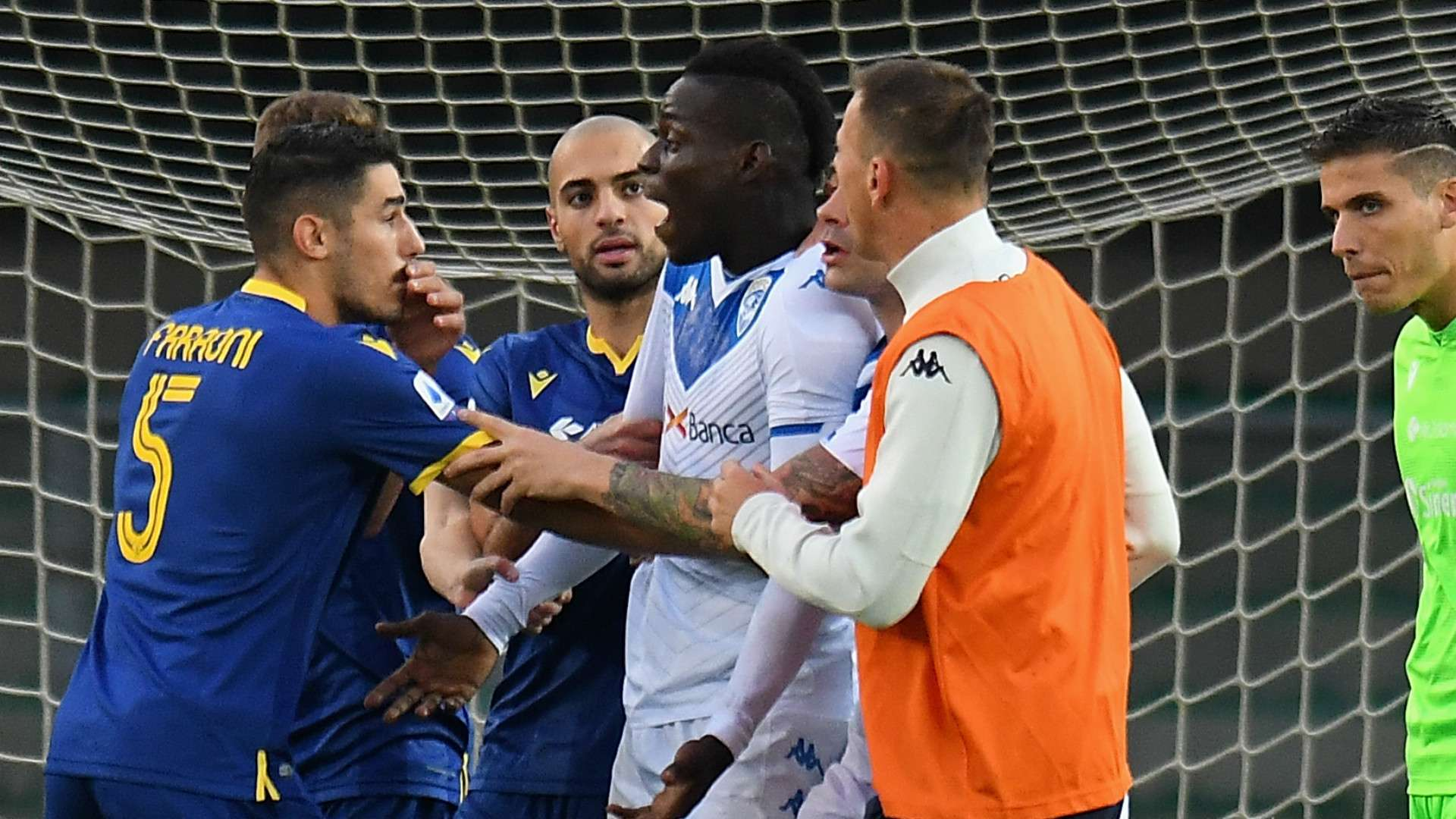 His problem, not ours' - Balotelli racist abuse denied by Verona ...