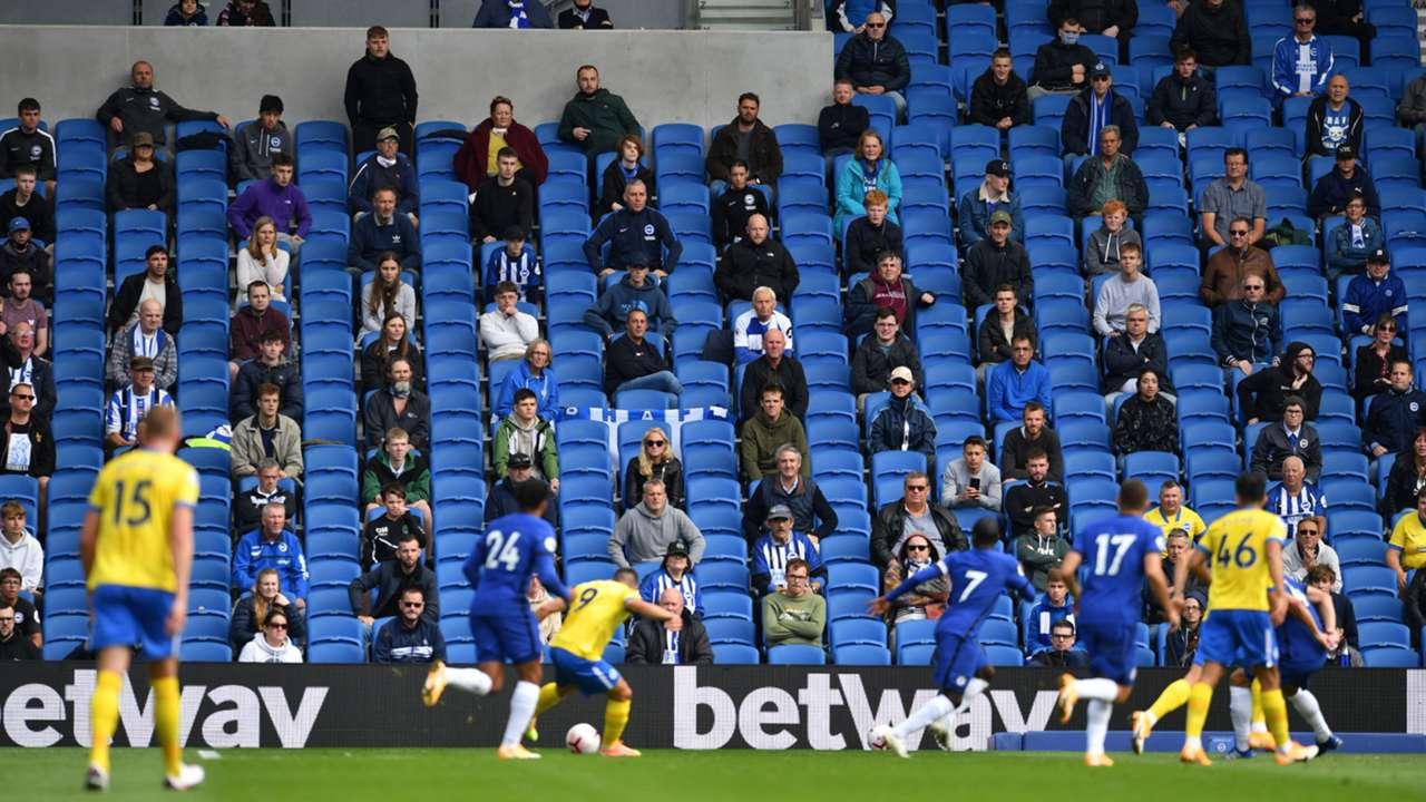 Brighton Chelsea Amex Stadium 2020-21