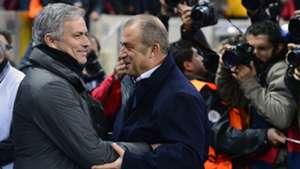 Jose Mourinho Fatih Terim Galatasaray Real Madrid 09042013