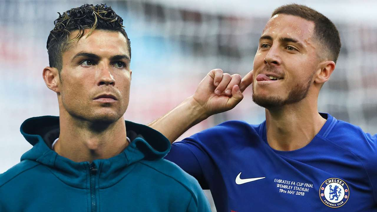 GFX Eden Hazard Cristiano Ronaldo