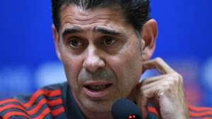 Fernando Hierro Spain presser