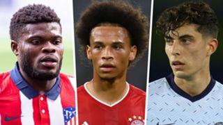 Thomas Partey Leroy Sane Kai Havertz