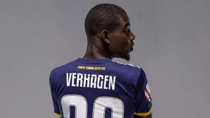 Bernio Verhagen, Cape Town City FC