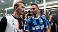 De Ligt De Vrij - Inter Juventus