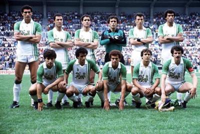 منتخب الجزائر 1990