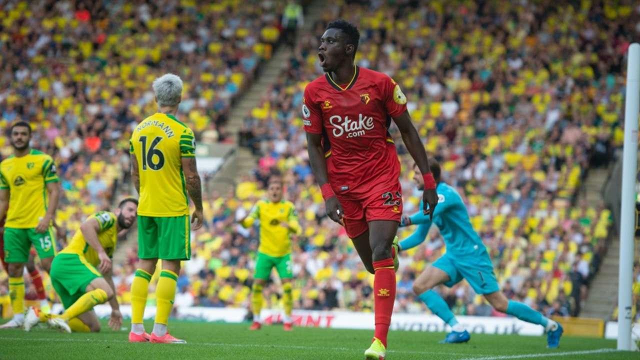 Ismaïla Sarr of Senegal and Norwich City.