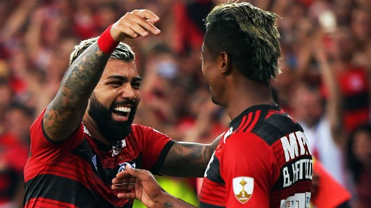 Gabigol Bruno Henrique Flamengo Libertadores 19 03 2019