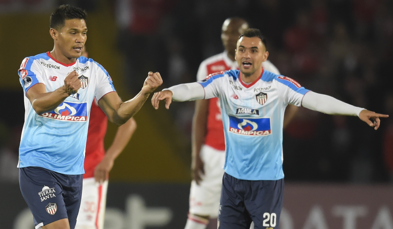 Teófilo Gutiérrez Santa Fe - Junior Copa Sudamericana 2018