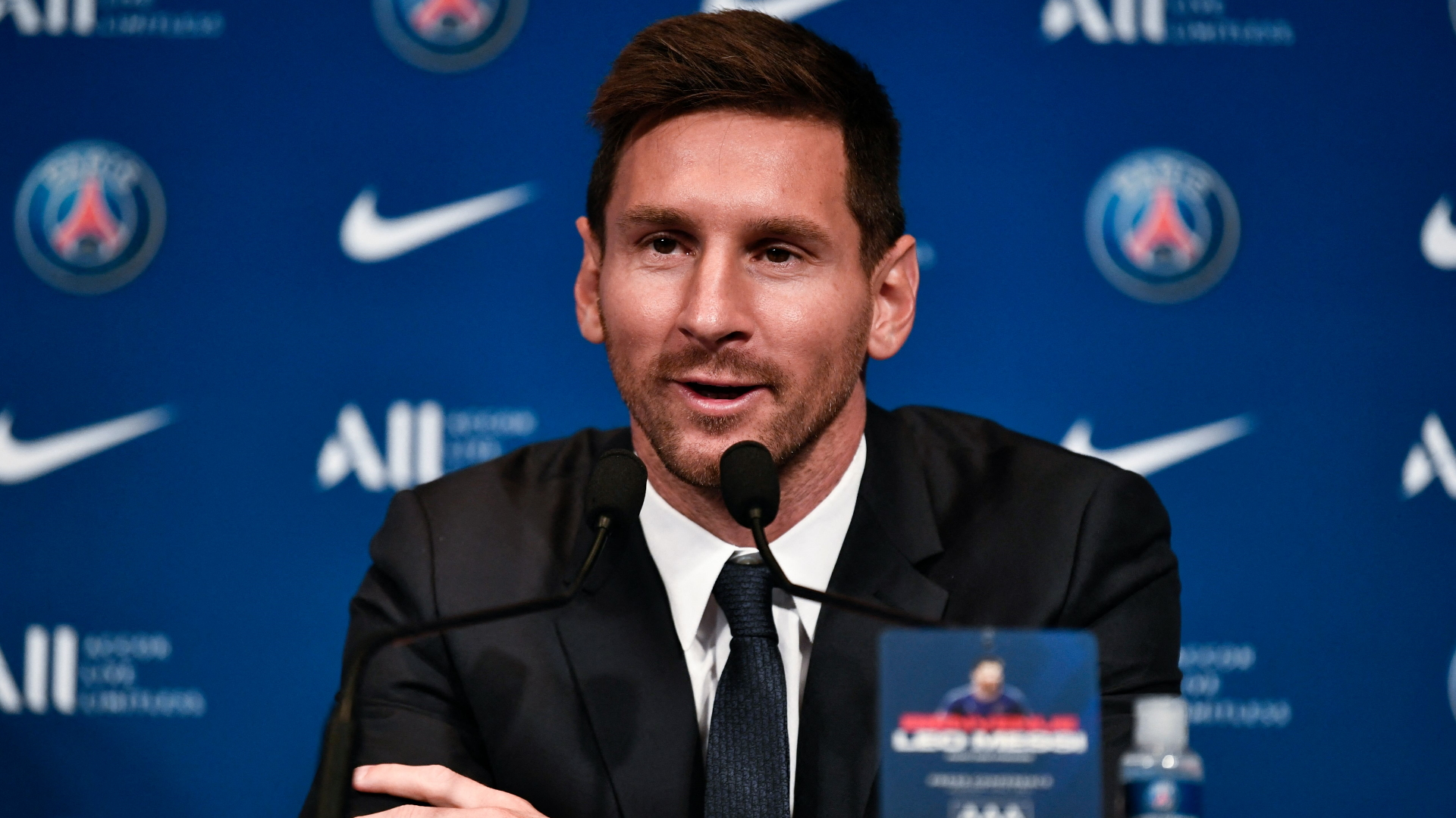 Messi to PSG LIVE: Argentina star's official unveiling & press conference