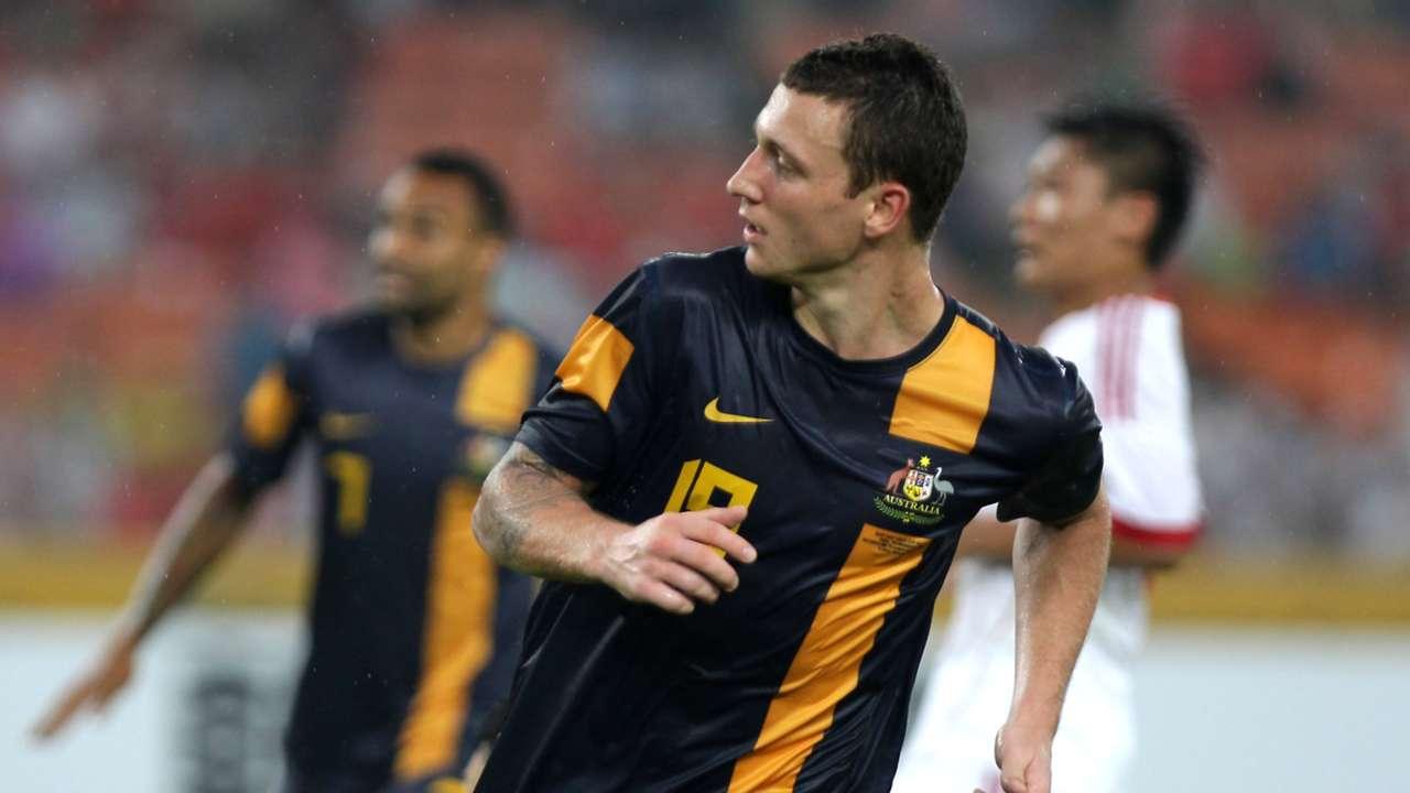 Mitch Duke Socceroos