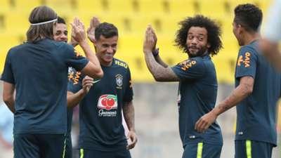 Marcelo Coutinho Filipe Luís I Brasil I Copa do Mundo I 04 07 18