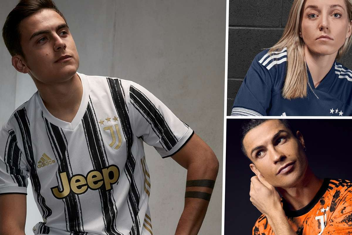 juventus 2020 21 kit new home and away jersey styles and release dates goal com juventus 2020 21 kit new home and