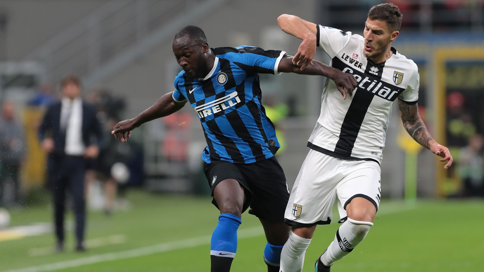 Face à Parme, Romelu Lukaku inscrit son sixième but pour le compte de l'Inter Milan