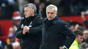 Ole Gunnar Solskjaer Jose Mourinho Manchester United 2019-20