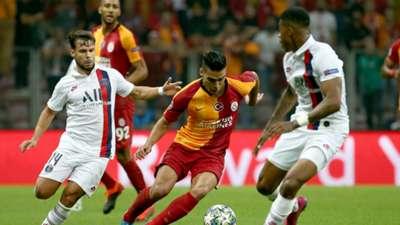 Radamel Falcao Galatasaray PSG UCL 10012019