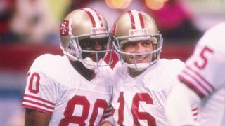 Joe Montana Jerry Rice San Francisco 49ers